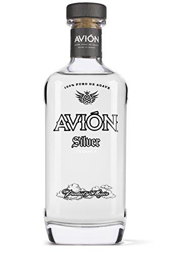 Avión Silver Tequila, Hochprozentige Spirituose aus 100% blauer Agave, Feinste Qualität mit besonders weichem und ausgewogenem Geschmack (1 x 0,7 L) -