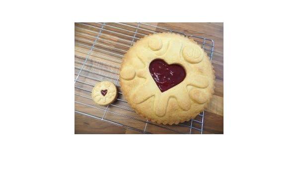 Excellent Giant Jammy Dodger Cake Mould Amazon Co Uk Kitchen Home Funny Birthday Cards Online Benoljebrpdamsfinfo