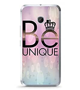 Fuson Be Unique Designer Back Case Cover for HTC 10 :: HTC One M10 (Love Quotes Inspiration Emotion Care Fun Funny)