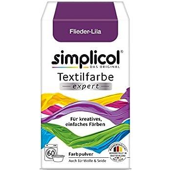Simplicol 2604 Textilfarbe mit Färbesalz, Lila (ALA50): Amazon.de ...
