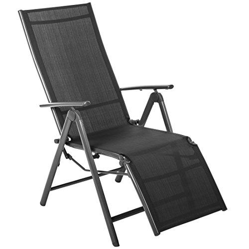 Ultranatura 2000000000A3 - Sillón de relax con reposabrazos, aluminio