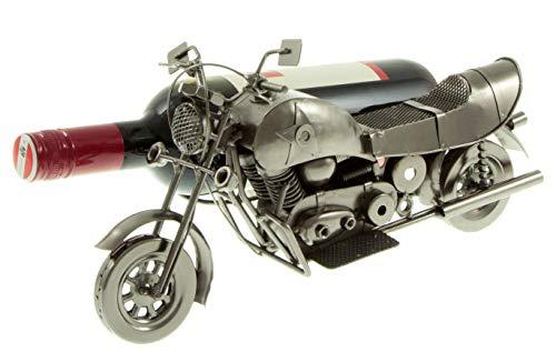 hLine Flaschenhalter Motorrad Edler Flaschenständer Motorrad mit Beiwagen