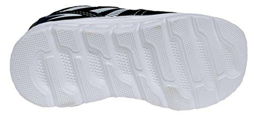 gibra , Baskets pour garçon Noir/blanc