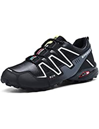 Hombre Calzado de Trail Running para, Zapatillas Atlético, al Aire Libre Senderismo Zapatillas de Deporte,Speedcross Senderismo Zapatos.