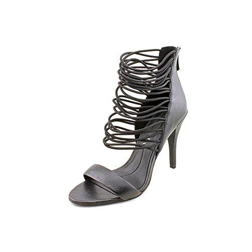 BCBG Max Azria Nikole Damen Leder Sandale Black
