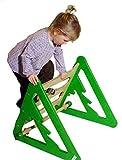 Spielmöbel 3 in 1 / Klettern, Wippen, Rutschen / Material: Holz / Maße: 110x55x52 cm / Made in Germany / 3+
