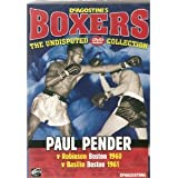 BOXING - PAUL PENDER v ROBINSON 1960, BASILIO 1961, - VERY COLLECTABLE NOWDAYS AND BECOMING HARD TO FIND - NEW AND FACTORY SEALED - VERY RARE