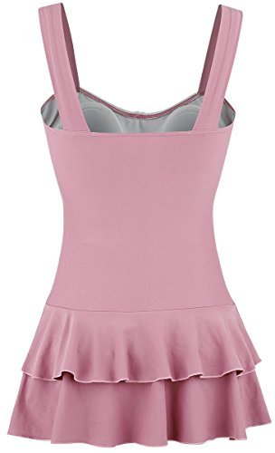 Pussy Deluxe Collar Swimsuit Badeanzug rosa Rosa