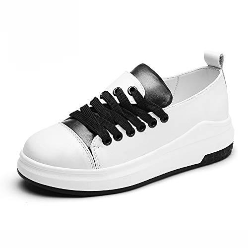 a6855d9274e Zapatos para mujer HWF Zapatillas para Mujer de la PU Sneaker Low Top Lace  Up Single