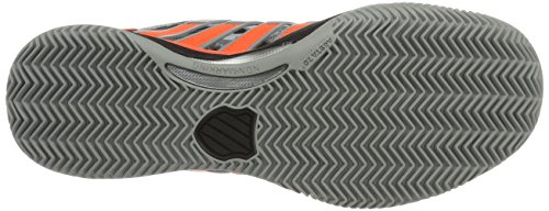 K-swiss Performance Mens Hypercourt 2.0 Hb Tennis Shoes Grigio (highrise / Black / Neon Blaze)