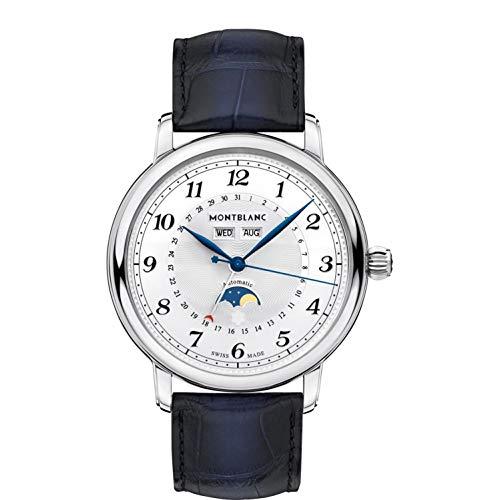 Montblanc Star Legacy Herren-Armbanduhr 42mm Blau Automatik 118516