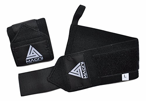 magni-strength-equipment-black-powerlifting-wrist-wraps-wrist-wraps-powerlifting-crossfit-wrist-wrap