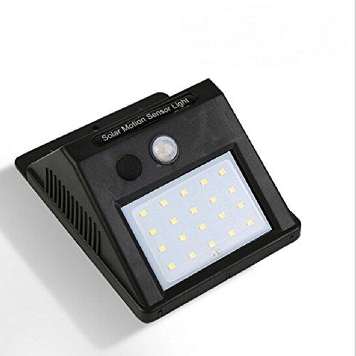 SIWAN Solar LED Lichter, 1 Pac 1 W, Olar Bewegungslicht 20 LED Bewegungssensor LED Solarleuchten Für Im Freien Wasserdichte Drahtlose Solarbetriebene Motion Light Für Schritt Garden Yard Path -