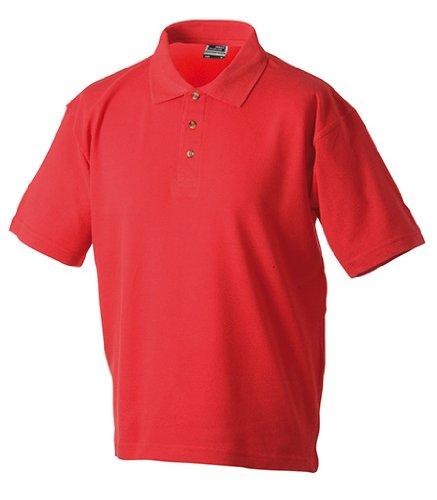 Polo Piqué Medium, Red, XXXL XXXL,Red -
