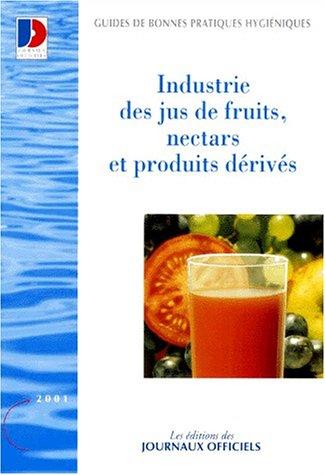 Jus de fruits, nectars et produits dérivés - Brochure 5916