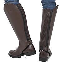 Riders Trend 10021056-CHO-XL - Polainas de equitación unisex, color chocolate, talla XL