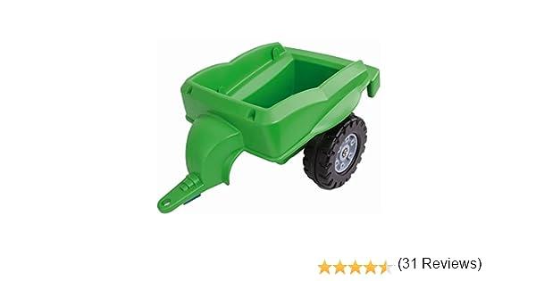 800056668 Vert BIG Remorque pour Bobby Tracteur