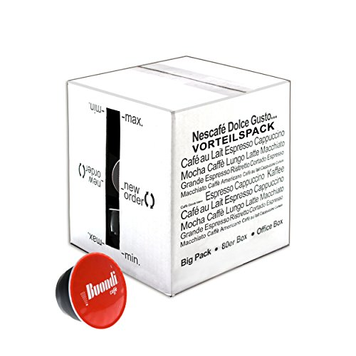 Nescafè Dolce Gusto Espresso Buondi, confezione da 80 capsule