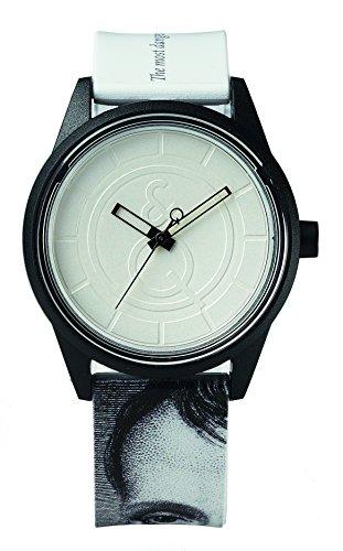 Citizen–Reloj de pulsera unisex Smile Solar analógico de cuarzo plástico rp00j037y