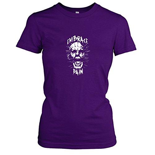(TEXLAB - Pinhead - Damen T-Shirt, Größe XL, violett)