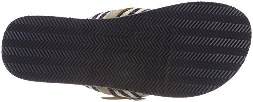 Tamaris 27109, Mules Femme Bleu (Navy Stripes)