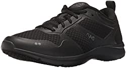 RYKA Women s Seabreeze Slip Resistant Walking Shoe Black/grey 5 B(M) US