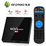 TV Box Android 9.0 Smart TV 4GB ROM+32GB RAM superpow MXQ PRO MAX S Quad-Core mit BT4.1/ 2.4Ghz WiFi / 100 LAN / H.265, 3D/ 4k Smart TV Box