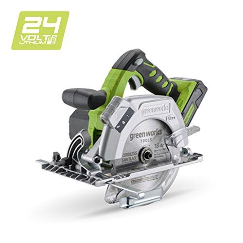 Greenworks 24V Akku-Handkreissäge (ohne Akku und Ladegerät) - 1500507