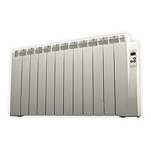 farho Radiador Eléctrico Tessla 1500W Bajo Consumo • Emisor Térmico con Termostato Digital Programable 24/7