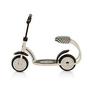 scooter besta roller cream white ab 3 jahren t85009. Black Bedroom Furniture Sets. Home Design Ideas