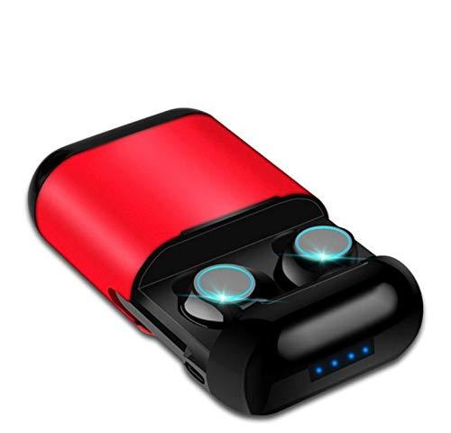 Zlywj Auricolari Bluetooth Cuffie Bluetooth TWS Auricolari Auricolari Bluetooth Senza Fili Auricolare Stereo Auricolare Bluetooth con Microfono E Scatola di Ricarica
