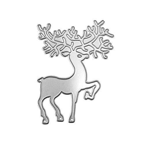 Rameng- Matrice de Découpe Stencil Scrapbooking Cutting Métallique DIY Album de Gaufrage Papier Carte (A)