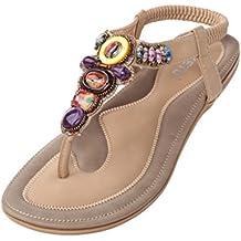 Vogstyle Donne Nuove Sandali Scarpe Stile Bohemian Pantofole A Tacco Piatto