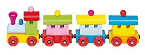 Goki 55978 trene de Juguete - Trenes de Juguete, Madera, 2 año(s), 40 mm, 55 mm, 24,5 cm