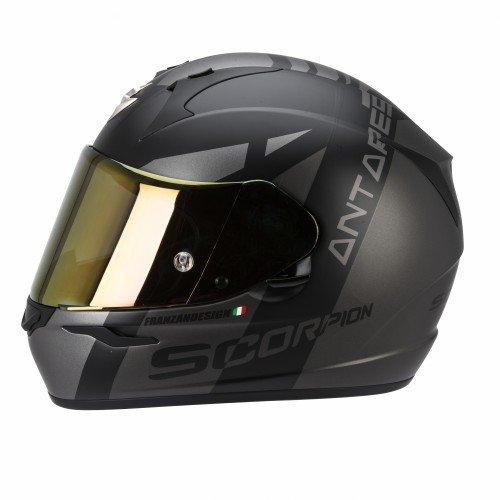 SCORPION Casque de Moto EXO-410 AIR ANTARES, Noir, Taille XS