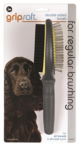 Artikelbild: JW Gripsoft Double Sided Grooming Brush for Dogs