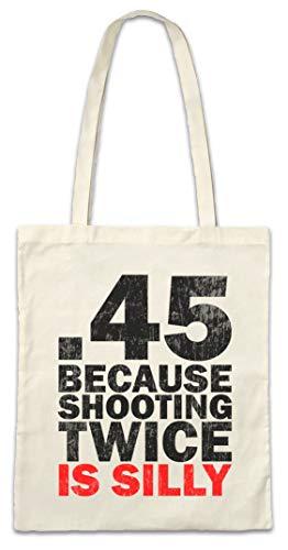 Urban Backwoods Shooting Twice Hipster Bag Beutel Stofftasche Einkaufstasche -