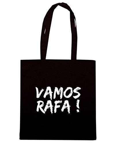T-Shirtshock - Borsa Shopping OLDENG00709 vamos rafa Nero