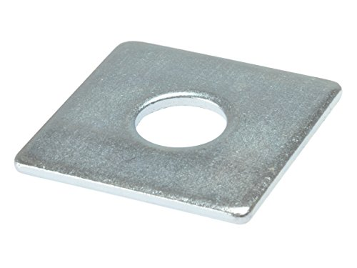 Forgefix Square Plate Washer | ZP 50 x 50 x 16mm | Bag of 10