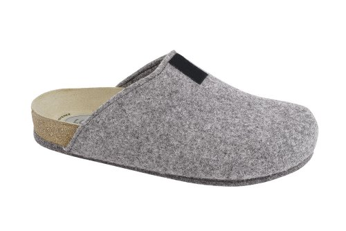 Tweed Cinza Bio-chinelo De Chinelo
