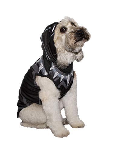 Marvel Black Panther Kostüm für Hunde, XS | Best Avengers Infinity Krieg Halloween-Kostüm für Alle Kleine Hunde und Welpen