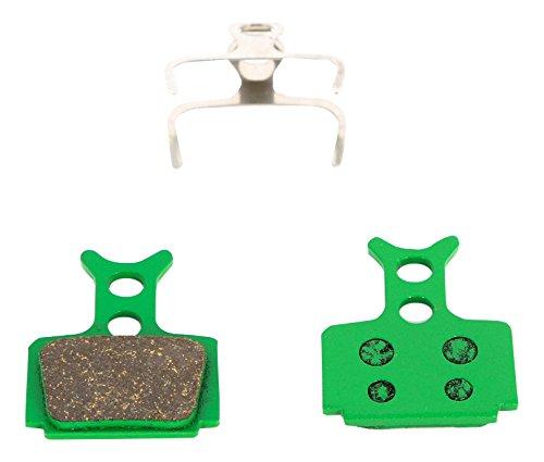 MSC BIKES Formula pastiglie Freno ecologiche Zoom, Verde, Taglia U