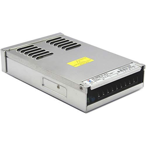 LED-Netzteil 350W Aluminium 12V, IP55,Natürliche Kühlung, brummfrei, laststabil, mit Kabelstecker, 3 Jahre Garantie