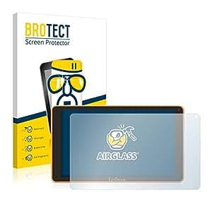 BROTECT AirGlass Protection Verre Flexible pour Lexibook LexiTab Fluo XL Film Vitre Protection Ecran Transparence - Extra Résistant, Ultra-Léger, Clair