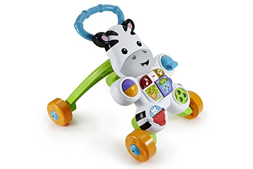Image of Fisher-Price Learn with Me Zebra Walker Toy