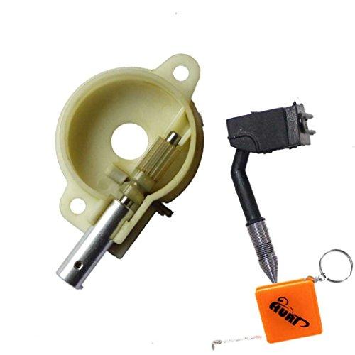 HURI Ölpumpe und Ölschlauch passend für Husqvarna 36 136 41 141 137 142 Motorsäge Kettensäge