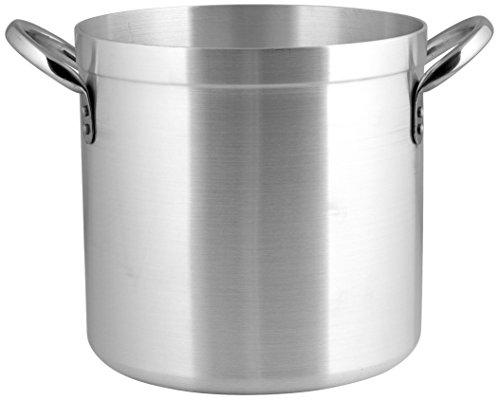 Pardini Omnia Pentola Cilindrica con 2 Manici, Alluminio, Argento, 24,9 litri, 30 cm