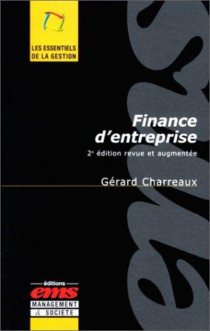 Finance d'entreprise, 2e édition par Gérard Charreaux