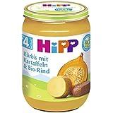Hipp Kürbis mit Kartoffeln und Bio-Rind, 6er Pack (6 x 190g)