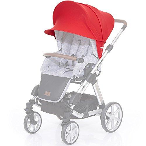 ABC Design Sonnensegel / Sonnendach, Sonnenverdeck, Sonnenschutz mit UV-Schutz 50+ für Kinderwagen...